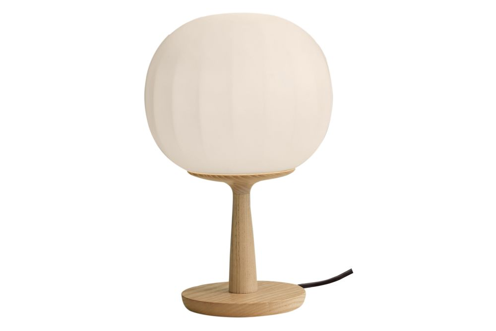 Small, Ash,LUCEPLAN,Table Lamps,beige,glass,lamp,light fixture,lighting