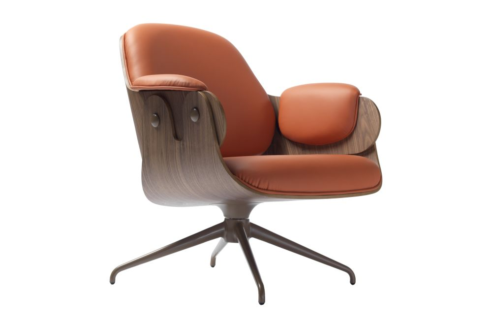 Medley Beige Y01, Wood Walnut Nature Effect NG EN2,BD Barcelona,Armchairs,armrest,chair,furniture,leather,line,office chair,orange,tan,wood