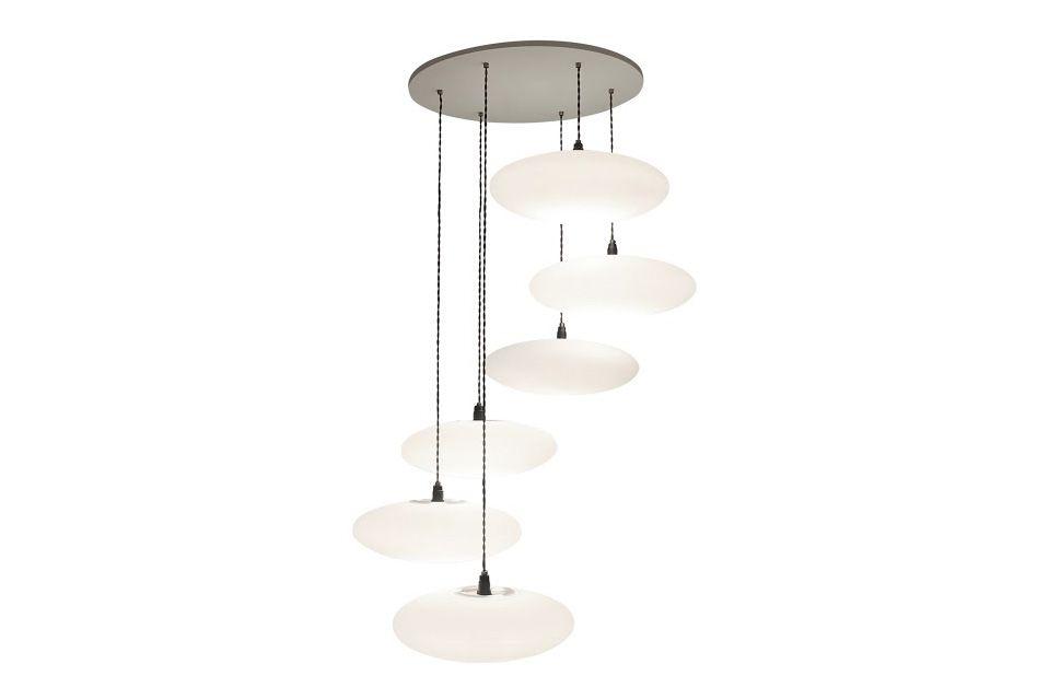 Etheletta 6 Drop Pendant Light by One Foot Taller