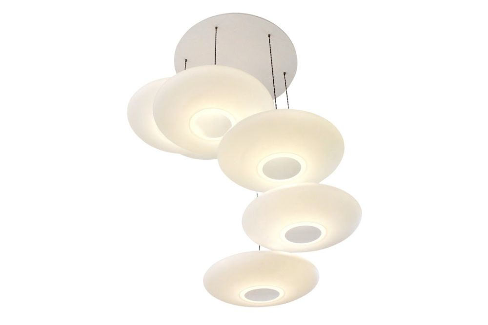 Ethel Inverse 6-Drop Pendant Light by One Foot Taller