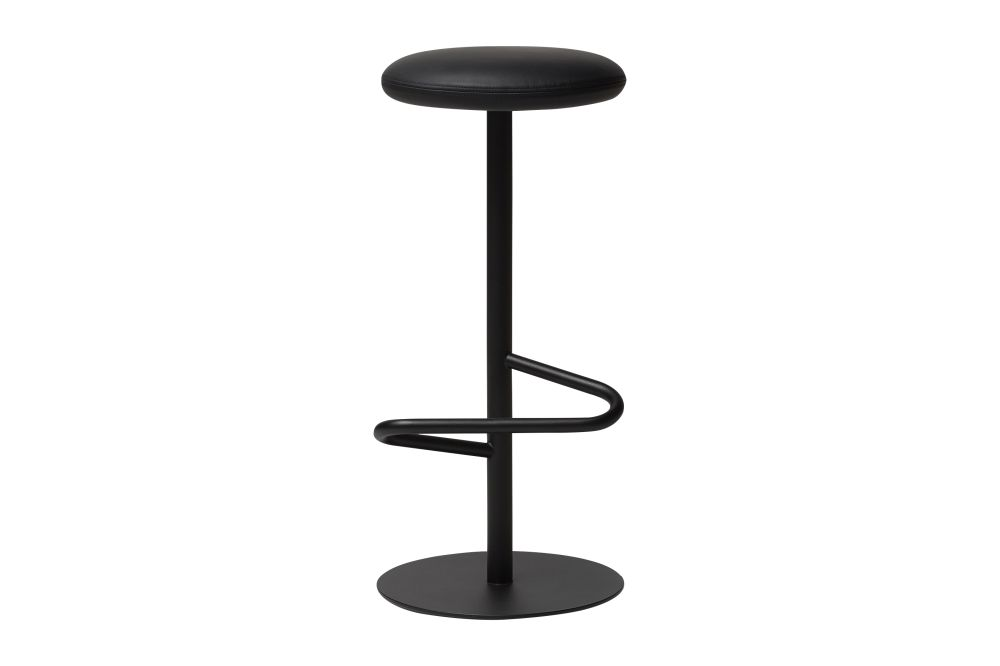Black - RAL 9005, 57004-0000 Lido-Indigo, 70cm,Massproductions,Workplace Stools,bar stool,furniture,stool