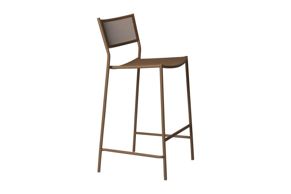 Pale Brown - RAL 8025, 75cm,Massproductions,Stools,bar stool,chair,furniture