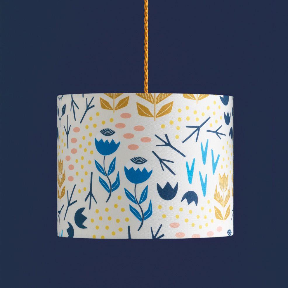 Desert Fleur Lampshade by Sian Elin