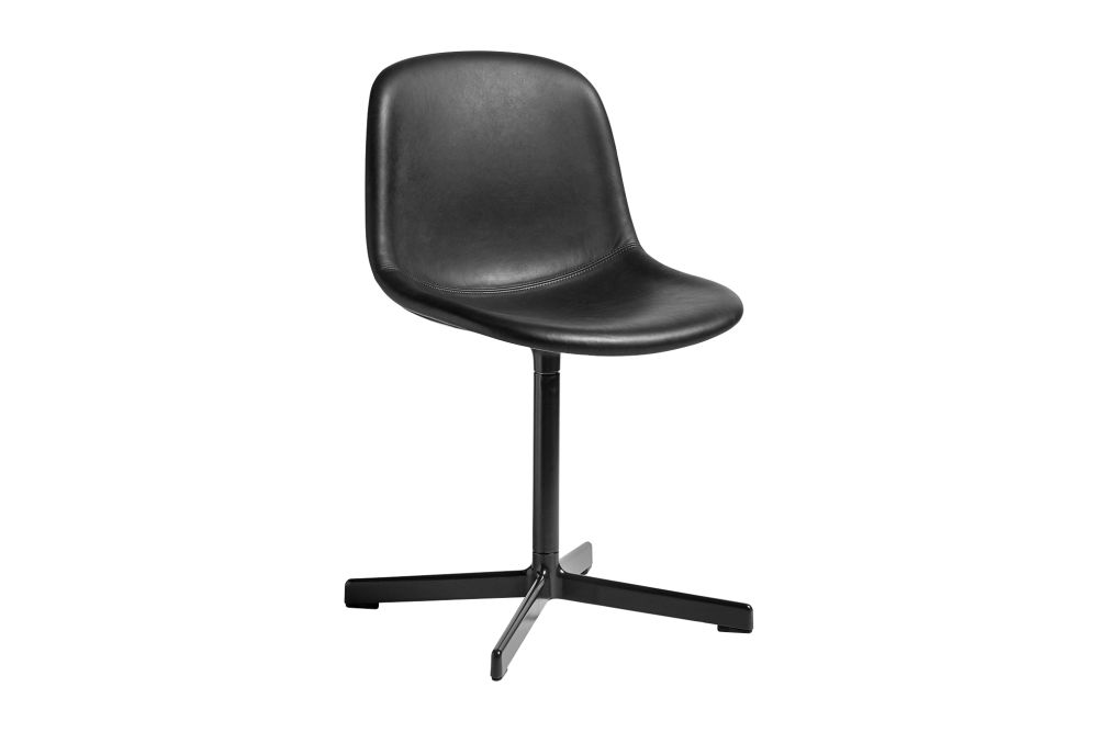 Neu 10 Upholstered Chair with Swivel Base by Hay