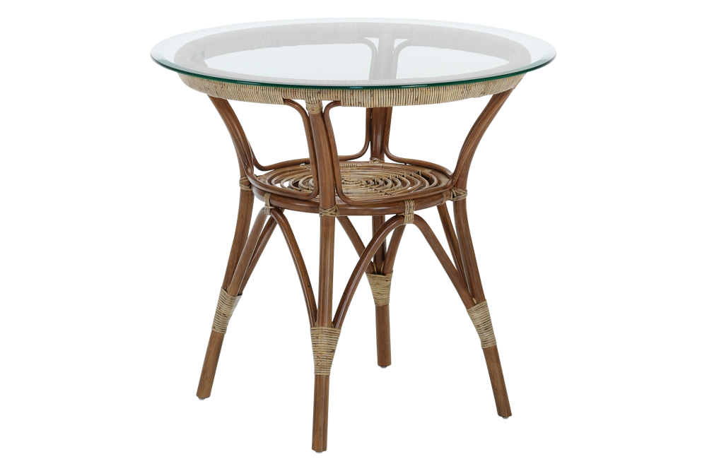 Originals Dining Table with Glass Top by Sika Design