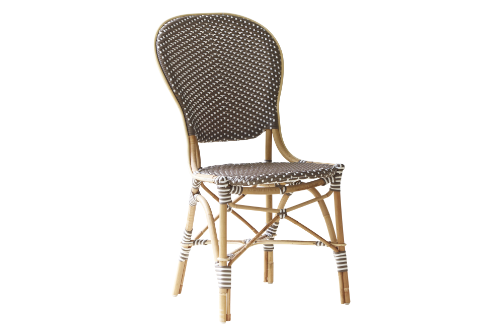 White with Cappucino Dot,Sika Design,Dining Chairs,chair,furniture,outdoor furniture,wicker