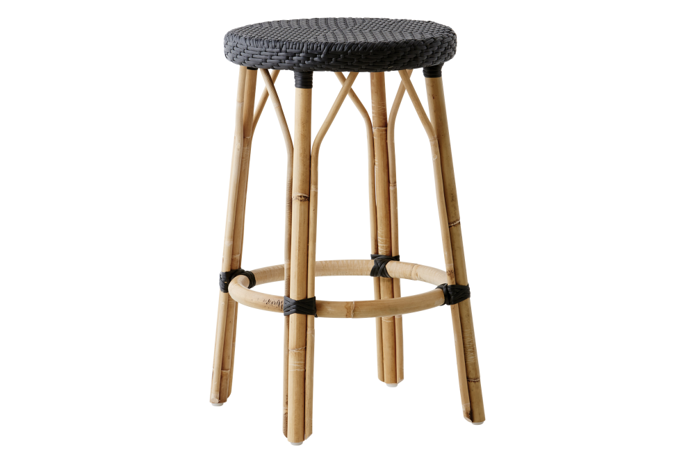 White with Cappucino Dot,Sika Design,Stools,bar stool,furniture,stool
