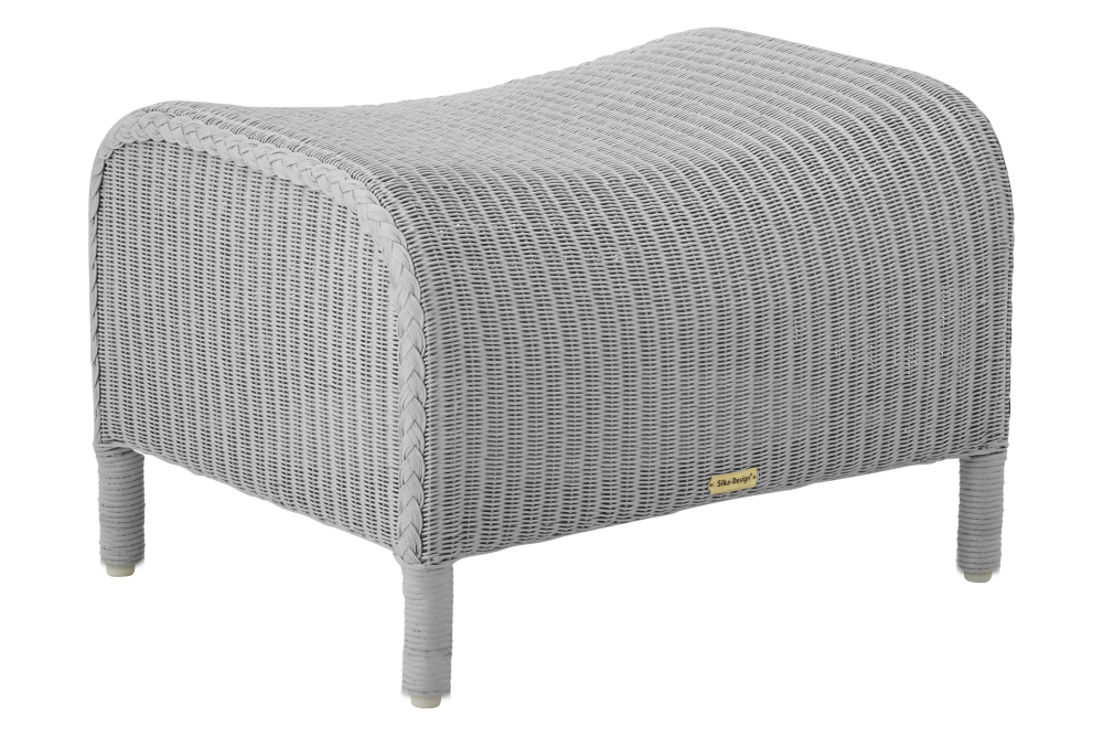Dawn Light Grey Footstool Set of 2 by Sika Design