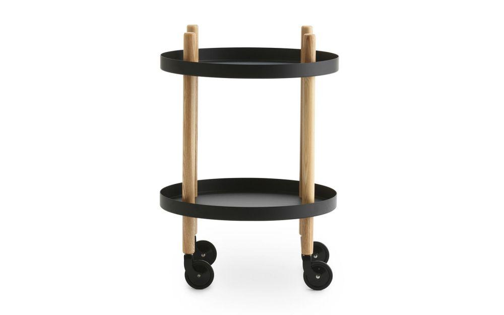 Block Side Round Table by Normann Copenhagen