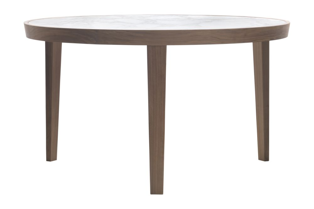 Wood Finishes Ashwood Stained Coffee, Marble Carrara,Flexform,Dining Tables,coffee table,end table,furniture,outdoor furniture,outdoor table,table,wood stain