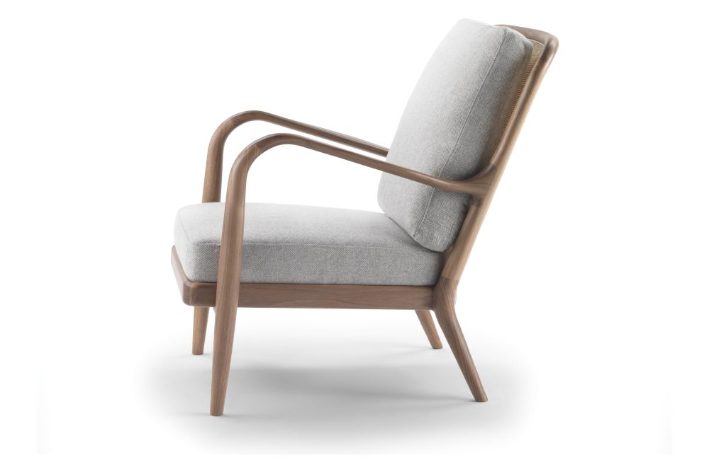 Agave Armchair Reed Back by Flexform