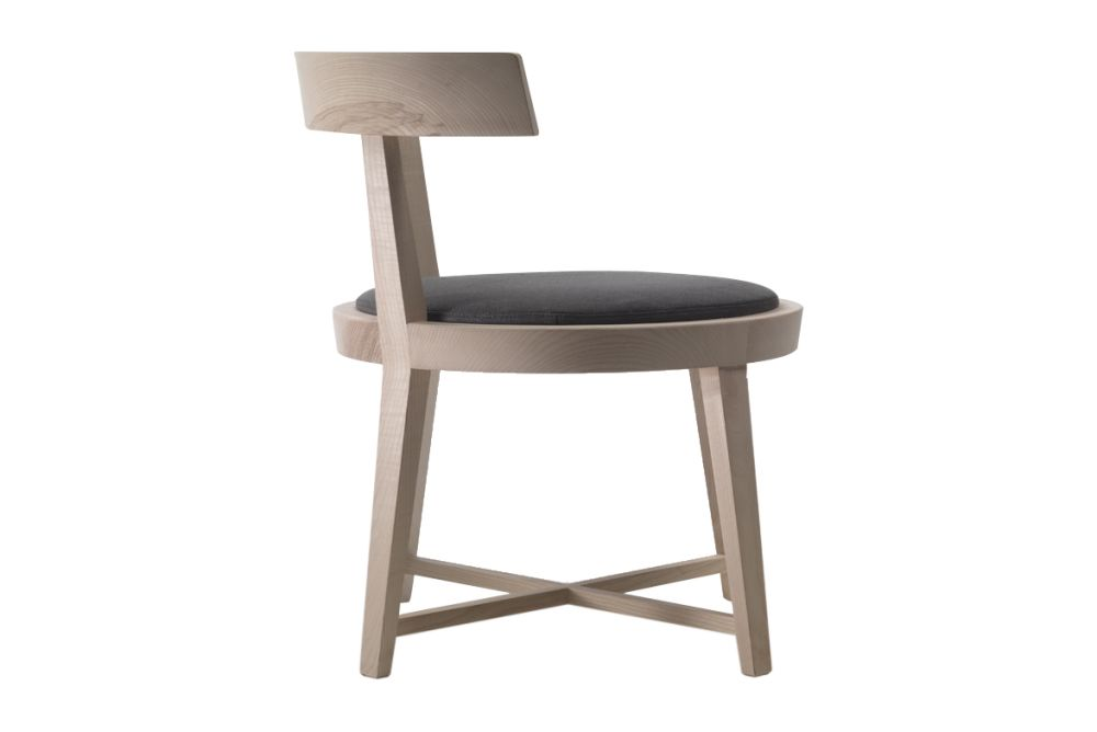 Sable 1640, Wood Finishes Noce Canaletto,Flexform,Seating,bar stool,chair,furniture,stool