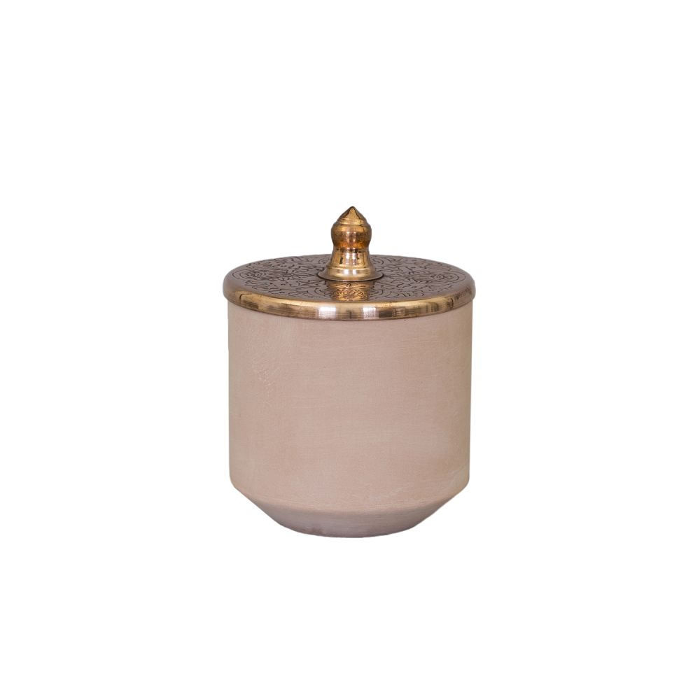 Tunisia Made Small Jar by Hend Krichen