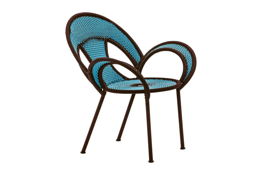 Oxide / Turquoise,Moroso,Armchairs,chair,furniture,outdoor furniture,turquoise