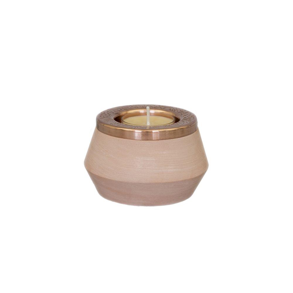 Medium Tea Light Holder,Hend Krichen,Candles & Lanterns,brass,metal