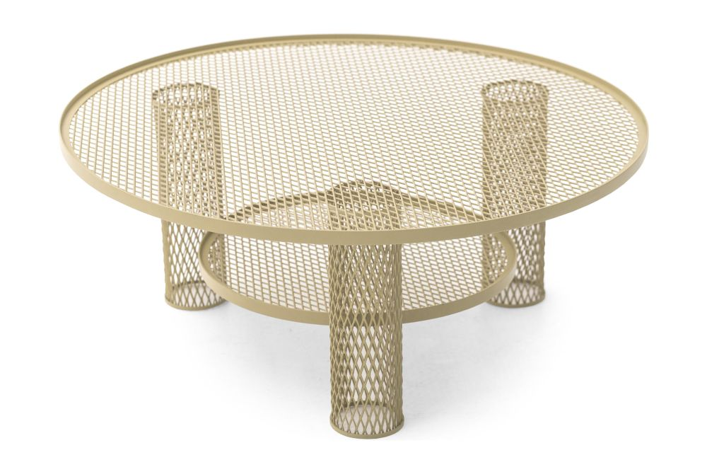 Small, Black,Moroso,Coffee & Side Tables,beige,coffee table,furniture,outdoor furniture,outdoor table,product,table