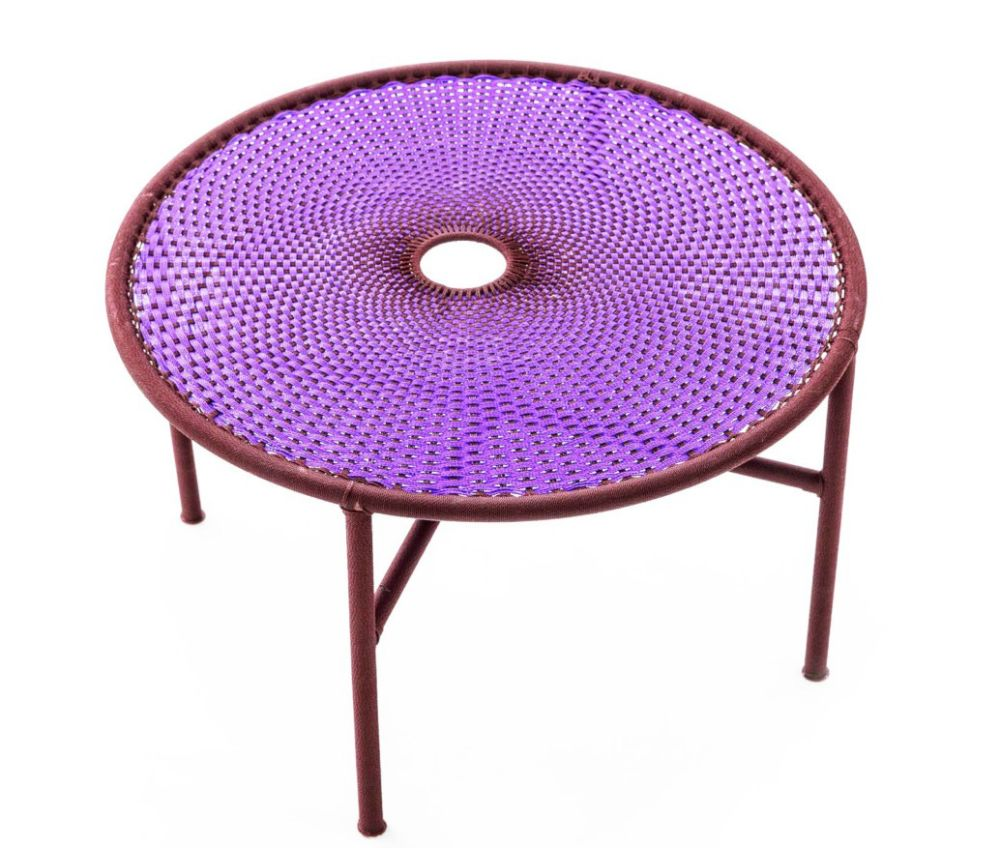 Black / Yellow, Small,Moroso,Coffee & Side Tables,coffee table,furniture,outdoor furniture,outdoor table,purple,table,violet