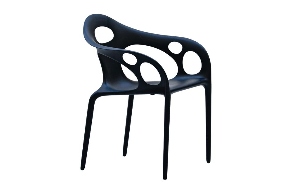 Black,Moroso,Dining Chairs,chair,furniture,plastic