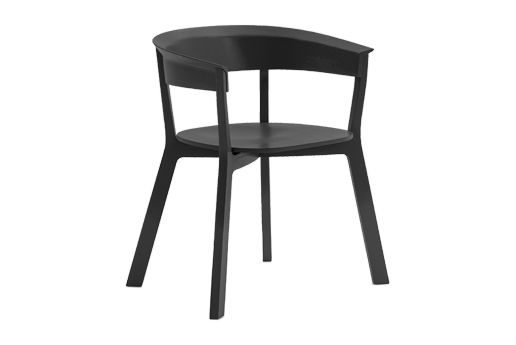 Ash Natural,Moroso,Dining Chairs,black,chair,furniture