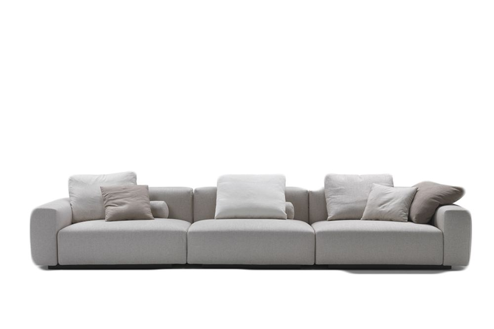 Mixed Composition Manhattan 1100, 280cm,Flexform,Sofas,beige,couch,furniture,leather,living room,room,sofa bed,studio couch