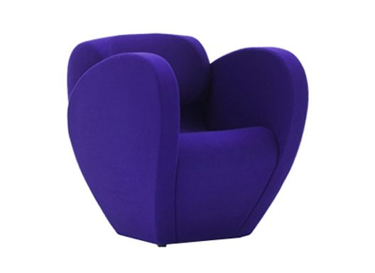 Divina 3 106 white - W,Moroso,Armchairs,chair,furniture,purple,violet