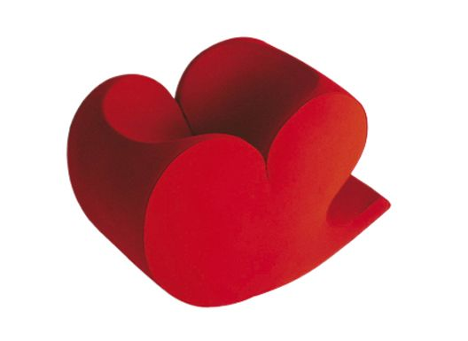 Spring Soft Heart Armchair by Moroso