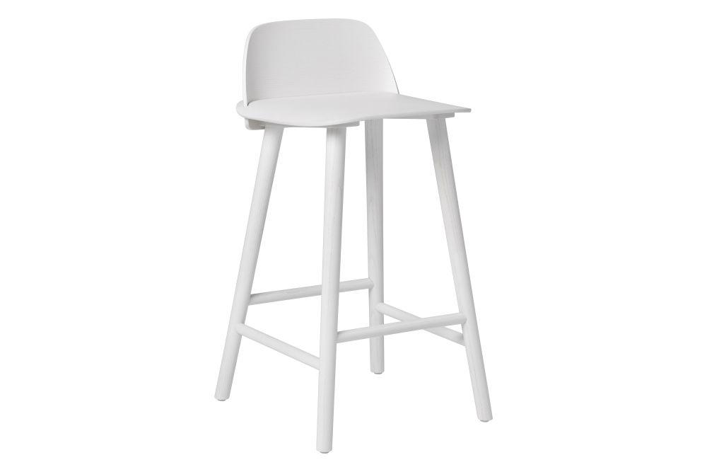 Grey Ash, 65 cm,Muuto,Stools,bar stool,chair,furniture,stool,white