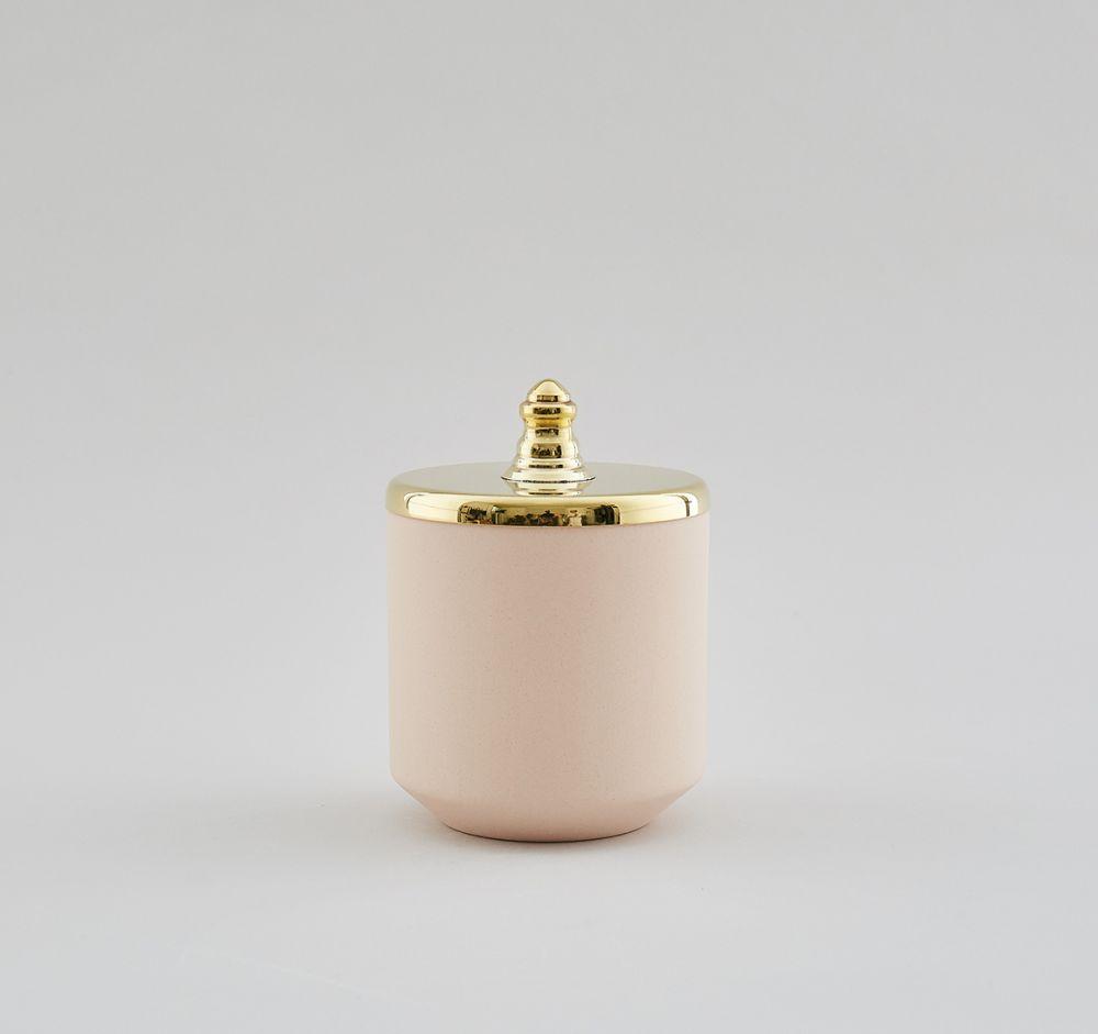 Pink Small Jar,Hend Krichen,Vases,brass
