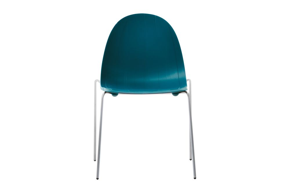 Pure White, Stainless Steel,Moroso,Dining Chairs,aqua,azure,chair,furniture,turquoise