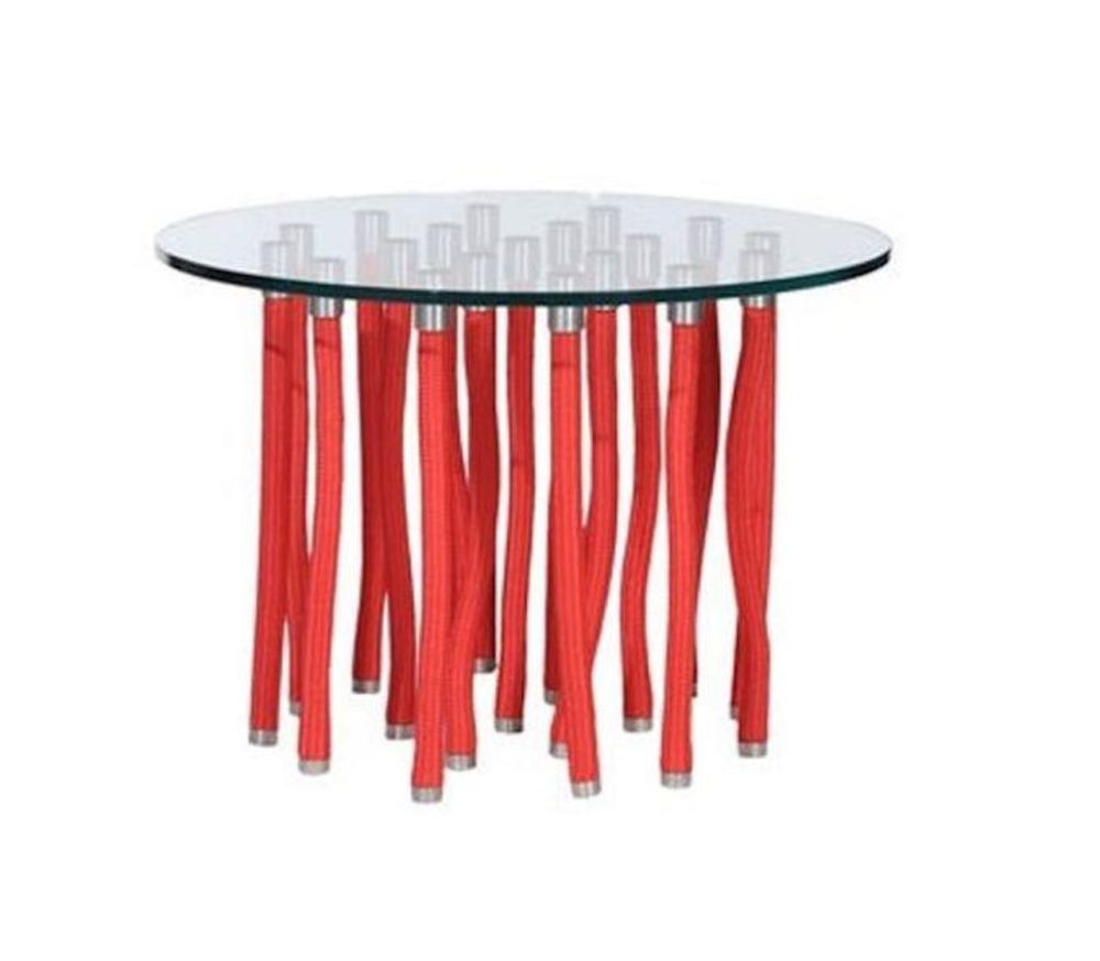 ORG 1611, Small,Cappellini,Tables & Desks,coffee table,furniture,outdoor table,red,stool,table