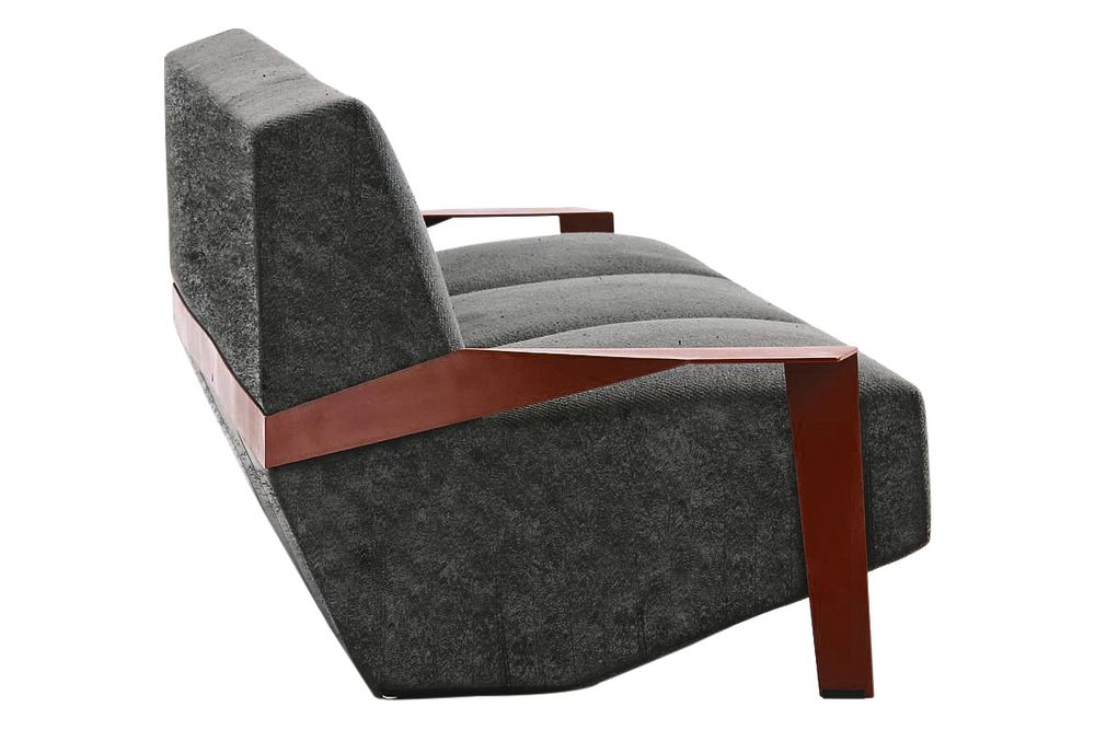 A5860 - Divina MD 193 black, Oxidored, 260 X 106,Moroso,Sofas,chair,club chair,furniture,product