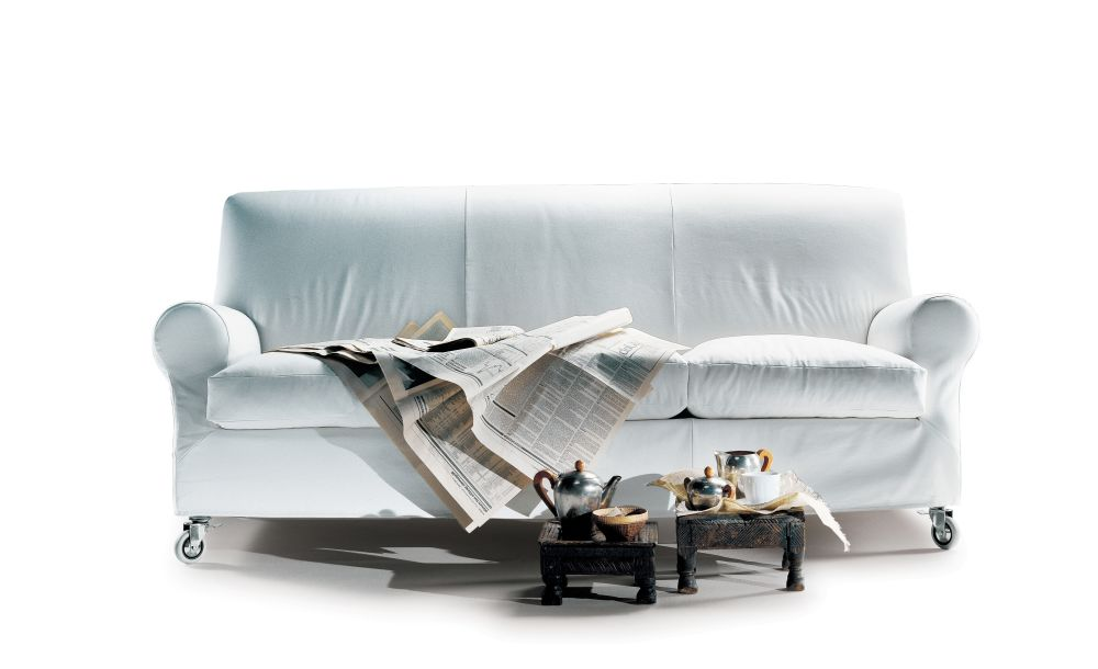 Sable 1640, Wood Finishes Noce Canaletto,Flexform,Sofas,couch,design,furniture,product,sofa bed,white