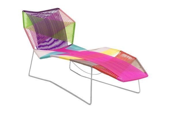 Traffic White, Black Quartz,Moroso,Lounge Chairs,chair,furniture,magenta