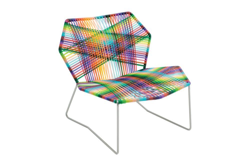 Traffic White, Black Quartz,Moroso,Seating,chair,design,furniture,patchwork,pattern,tartan,textile,turquoise