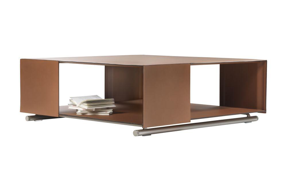 Hide Leather - Suede Black 5005, 35,Flexform,Coffee & Side Tables,coffee table,desk,furniture,rectangle,shelf,table