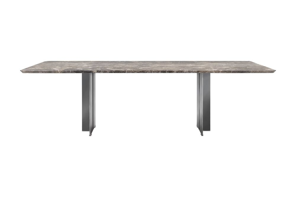 Marble Calacatta Oro Matt, Metal White 100, 250,Flexform,Dining Tables,coffee table,furniture,outdoor table,rectangle,sofa tables,table