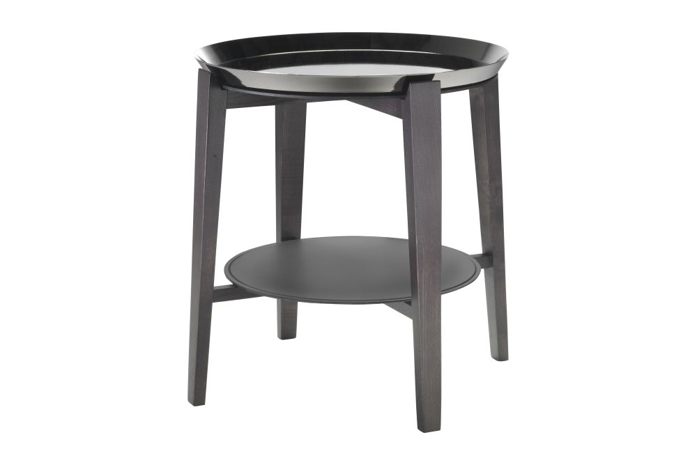Wood Finishes Ashwood Stained Coffee, Hide Leather - Suede Russian Red 5008, Black Chrome,Flexform,Coffee & Side Tables,bar stool,chair,end table,furniture,stool,table