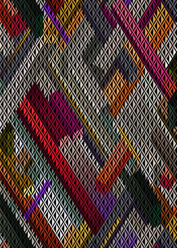 200 x 300 cm, Wool,Moooi Carpets,Rugs,colorfulness,design,graphic design,line,pattern,plaid,tartan,textile