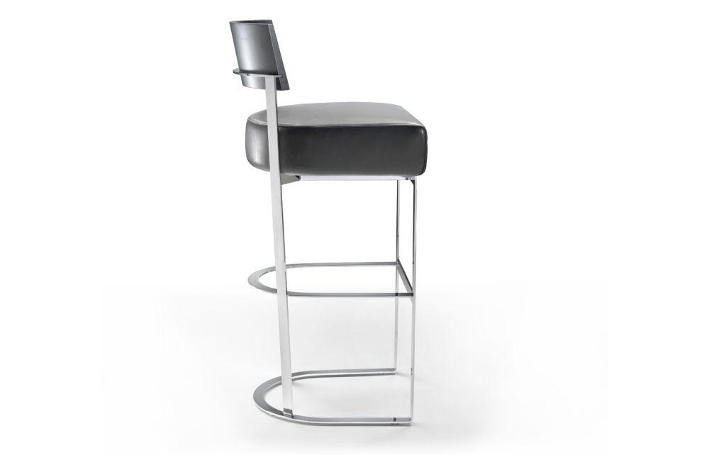 Cashmere 770, Black Chrome, Wood Finishes Noce Canaletto,Flexform,Stools,bar stool,furniture