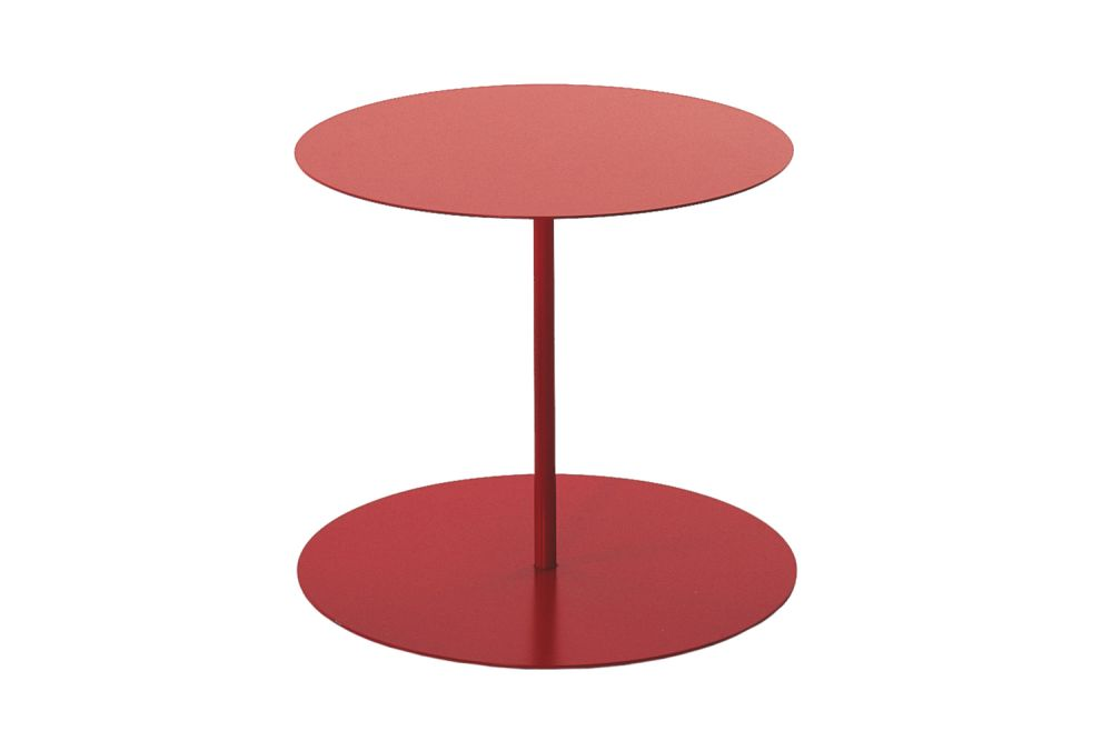 OP 1001,Cappellini,Tables & Desks,coffee table,end table,furniture,material property,outdoor table,red,stool,table