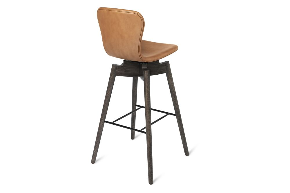 Shell Bar Stool with Swivel Seat by Mater