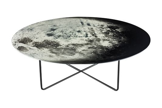 My Moon My Mirror Coffee Table by Diesel Living with Moroso