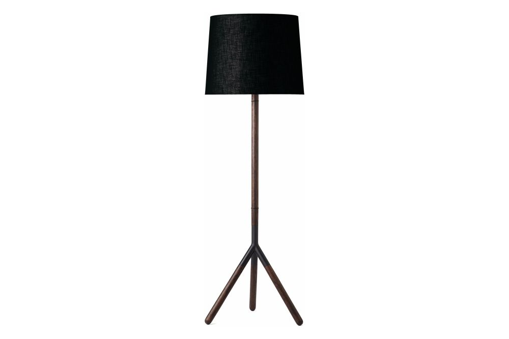 Lathe Floor Lamp by Mater