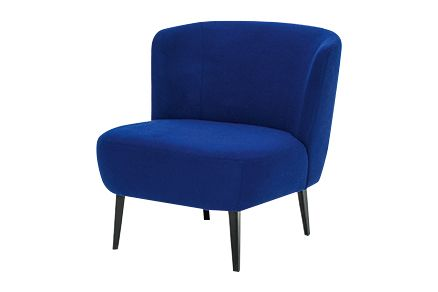 Raw Black, A0947 - Divina 3 756 light blue,Diesel Living with Moroso,Seating,blue,chair,cobalt blue,electric blue,furniture