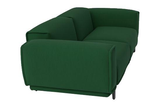 A5081 - Elastic 1 Uniform Melange Hydro, Mud, 220 x 107 x 70,Moroso,Sofas,chair,club chair,couch,furniture,green,sleeper chair