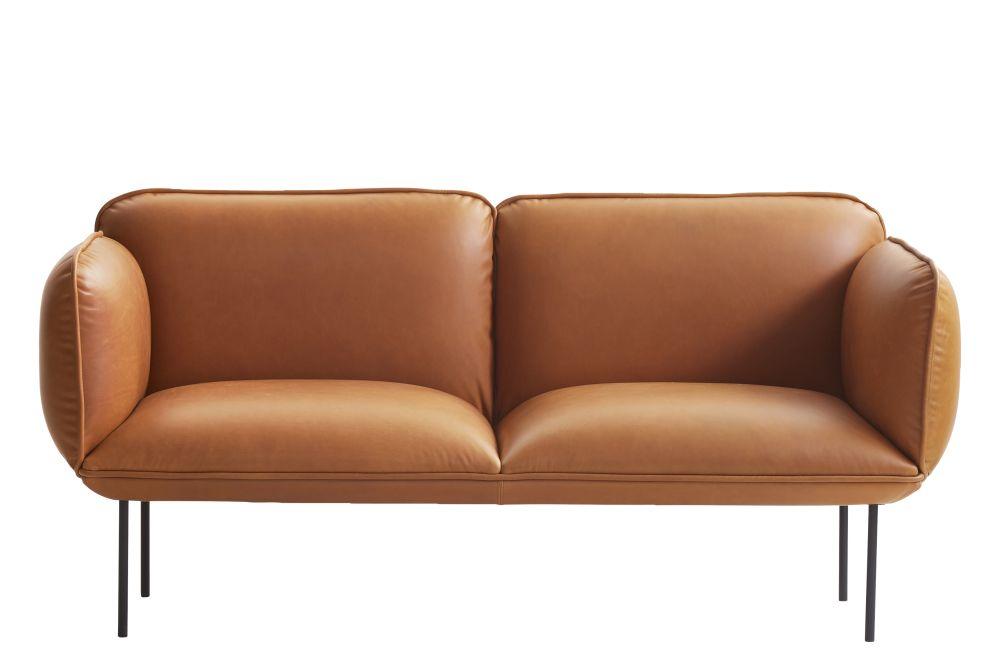 Crisp 04114,WOUD,Sofas,brown,couch,furniture,leather,loveseat,orange,tan