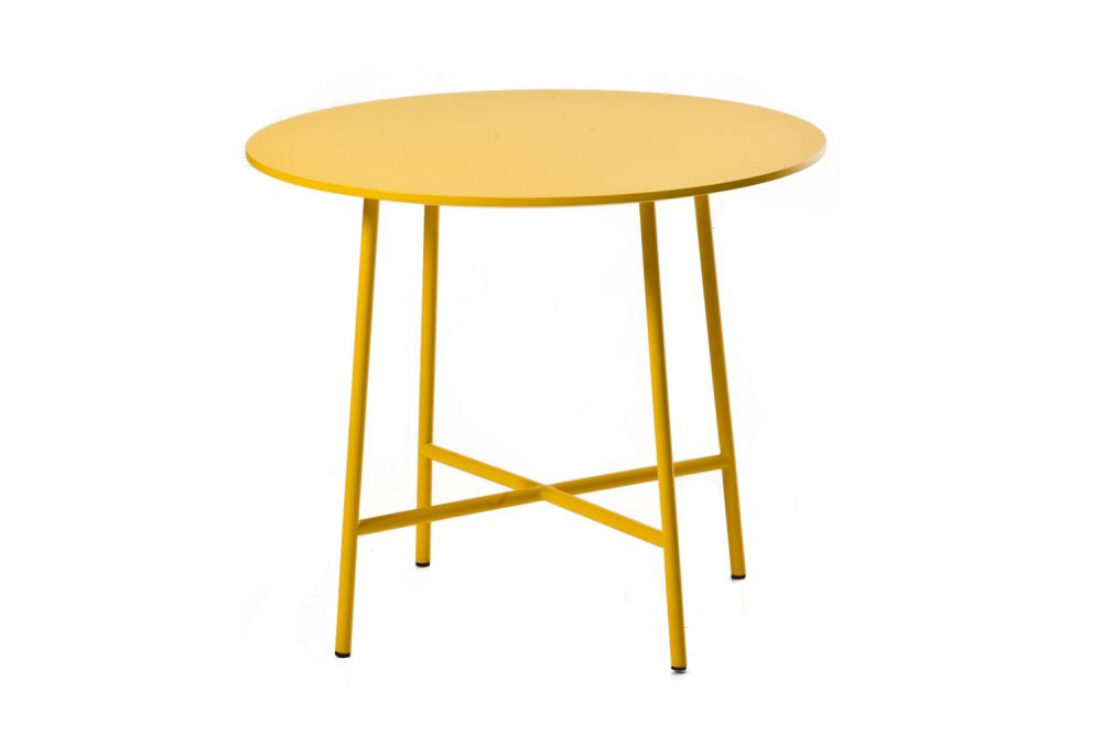 Pantone 5463 Ink, 90 X 40,Moroso,Coffee & Side Tables,furniture,outdoor furniture,outdoor table,stool,table,yellow