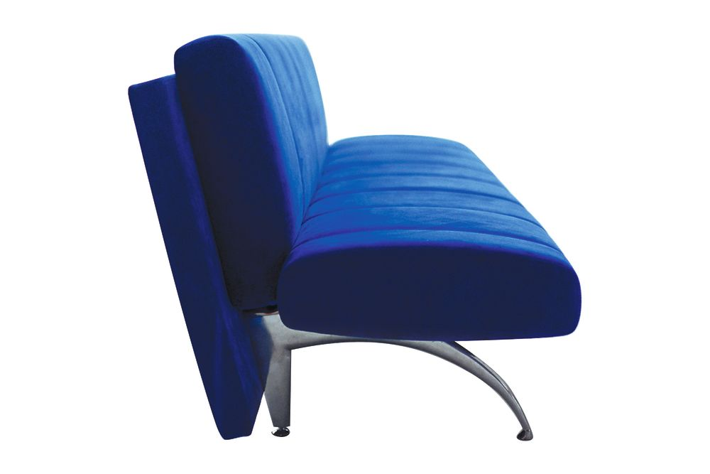 A4301 - Stamskin Top 4340-07478,Moroso,Sofas,blue,chair,cobalt blue,electric blue,furniture