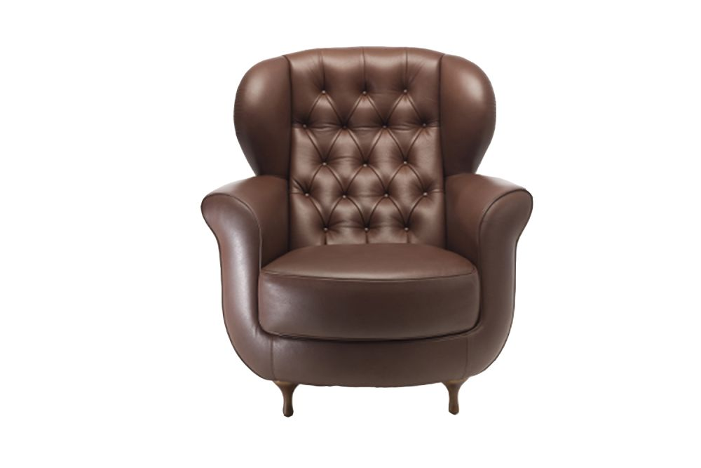 A0867 - Divina 3 623 red, Beech Natural,Moroso,Armchairs,brown,chair,club chair,furniture,leather,recliner