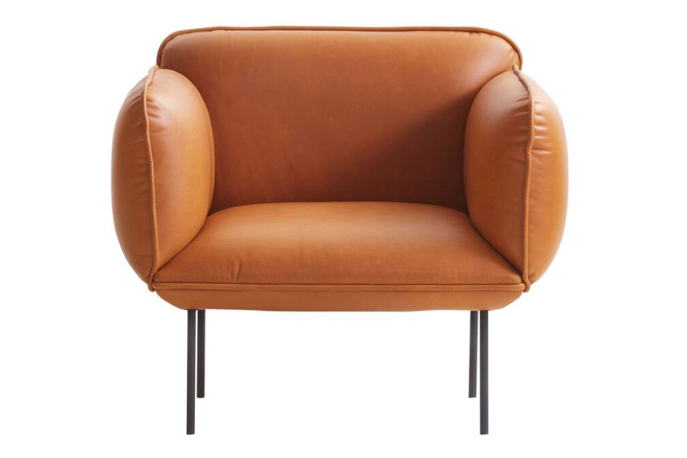 Step Melange 60004,WOUD,Sofas,armrest,chair,club chair,furniture,leather,orange,tan